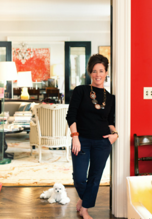 Kate Spade in her Manhattan home.PNG